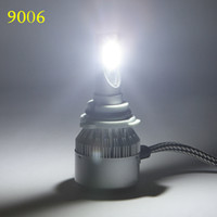 Wholesale H11 Auto Led Bulb - H4 H7 H11 H1 H3 9005 9006 COB LED Car Headlight Bulb 72W 7600LM 6000K Auto Headlamp 12v 24v Car Fog Lights