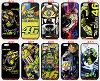 Wholesale S3 Mini Phone Cases - Valentino Rossi VR 46 For iPhone 6 6S 7 Plus SE 5 5S 5C 4S iPod Touch 5 For Samsung Galaxy S6 Edge S5 S4 S3 mini Note 5 4 3 phone cases