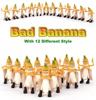 Wholesale Headplay Evil Bad Banana Man - Free Shipping 1set 12pcs different style Headplay Evil Bad Banana Man Funny Devil Style Large 30cm Novelty Adults Figure Toys Fashion