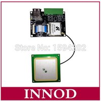 Wholesale Rs232 Uart - Wholesale- 868mhz gen2 epc tag uhf rfid reader antenna chip PR9200 usb small uhf cheap rfid module 900mhz with rs232 TTL Uart wiegand