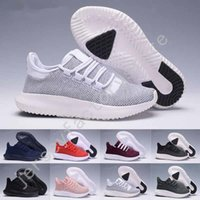 Wholesale White Shadow Box - (With Box) Wholesale Cheap Tubular Shadow Knit Running Shoes for men and women Tubular Shadow 3D 350 Sneaker sports Shoes boost Boosts 36-44