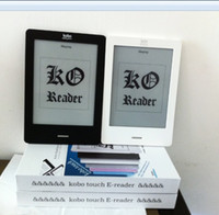Wholesale Black Ink Lining - Wholesale- E book Reader Original Kobo Touch e-ink ebook Reader N905C 2GB wifi 6'' Touchscreen , data line , 95%new,100% perfect condition