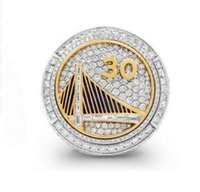 Wholesale Custom Sports Rings - DHL size 6-15 Wholesale 2015 Golden State Curry Round Basketball custom sports Replica world Championship Ring
