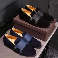 Wholesale Party France Dress - Man Dress Shoes Men loafers Shoes France fashion men luxury shoe breathable handmade Man office shoes size 39-44 174163432