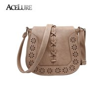 Wholesale Gold Noble Weave - Wholesale-Fashion vintage 2016 New weaving small women shoulder bags stylish wild messenger bags Elegant and noble female Crossbody bag
