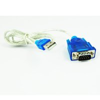 Wholesale Usb Db9 - Wholesale- 2016 New USB TO RS232 SERIAL Adapter CABLE DB9 PIN 340
