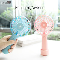 Wholesale Handy Power - Baseus Handy USB Fan Power Bank Handle Mini Fan 1500mAh Charging Electric Fans Rechargeable Handheld For Home Office RETAIL BOX 4 Colors