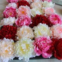 Hot pink silk wedding bouquets canada best selling hot pink silk hot pink silk wedding bouquets canada hot silk peony flower head dia 15cm 591 mightylinksfo