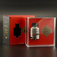Wholesale better design - Original Tesla Antman 24 RDA Atomizer Tank SS316 Wire Bottom Design Better Flavor with Large Airflow Holes Electronic Cigarette DHL Free
