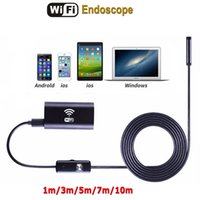 Wholesale Inspect Camera - 2 In 1 Android OTG Endoscope, 1M USB Borescope Waterproof Inspecting Snake Tube Camera Microscope With Kits (1m)