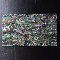 Wholesale Natural color mother of pearl shell mosaic Tile Abalone shell sheet tile on MgO board backer MS026