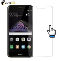 Atacado- Huawei P9 Lite 2017 Vidro Temperado 9H 2.5D Scratch Proof Premium Screen Protector Film para Huawei P9 Lite 2017 Mobile Phone