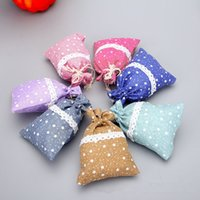 Wholesale Small Pouch Cloth - High-grade Linen Cloth Jewelry Gift Pouch Candy Bag Plaything Small Goods Drawstring Storage Bags free shipping F2017211