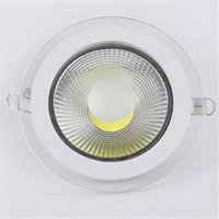 Wholesale white day beds online - New Arrival Round LED Lights w w w downlight cob led dimmable spotlight LED recessed lighting lamps warm cool white day light AC85 V