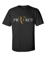Wholesale Perfect T Shirts - PERFECT Roger Federer RF Black Men T-Shirt Short Sleeve 100% Cotton Mens T Shirt Tee Euro Size XS-3XL Wine Red