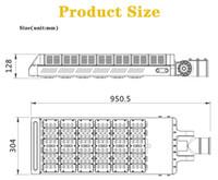 ip67 industrielles geführtes licht großhandel-300W LED Sheobox Mastlicht 33.600Lm 1000W HID / HPS Gleich 5000K AC100-277V Eingangsspannung Wasserdicht IP65 UL DLC Listed Street Area Packing Lo