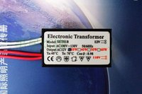 Wholesale Electronic Transformer For Halogen - 1 Piece Only, 20-160W 50 60Hz LED Lamp Driver Power Supply Converter Electronic Transformer AC110V In AC12V Out for G4 Halogen Lamps