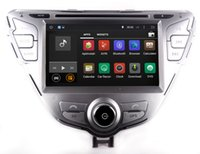 Wholesale Dvd Player Car Stereo Hyundai - Android 7.1 Car DVD Player for Hyundai Elantra   MD 2011-2013 with GPS Navigation Radio Bluetooth USB SD AUX Video Stereo WiFi