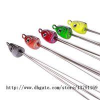 cabeças de jig venda por atacado-Pesca Alabama Guarda-chuva Rig Multicolor Jig Cabeça Isca De Pesca Do Mar Isca Isca com 5 Fios Swivels