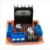 Wholesale L298n Stepper Motor Driver - 86042 Free Shipping 2pcs New Dual H Bridge DC Stepper Motor Drive Controller Board Module L298N MOTOR DRIVER