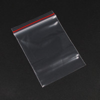 Wholesale Jewellery Clear Bags - Wholesale 500pcs X Clear View Plastic Reclosable Zipper Closure Zip Lock Bags Jewellery Packing Storage Bag Pouch 5X7cm