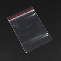 Wholesale Clear Plastic Bags Jewellery - Wholesale 500pcs X Clear View Plastic Reclosable Zipper Closure Zip Lock Bags Jewellery Packing Storage Bag Pouch 5X7cm