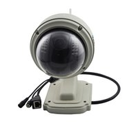 Wholesale Hd Ip Camera 12mm - IP Camera C33-X4 PTZ 2.8-12mm 4X Zoom Onvif Infrared Wireless HD 720P Onvif Infrared WIFI Outdoor Waterproof Dome Camera ANN