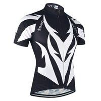 BXIO Brand Cycling Jersey imperméable Anti Pilling Vêtements de cyclisme Vêtements de cyclisme noir et blanc <b>Ropa Ciclismo Verano</b> Hombre BX-107