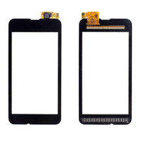 pantalla táctil lumia 625 al por mayor-OEM lente de cristal del digitizador de la pantalla táctil para Nokia Lumia 520 530 535 620 625 630 DHL libre