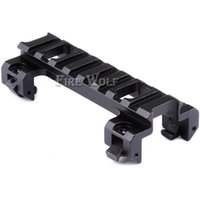 Alumínio 20mm Picatinny Weaver Scope Rail Base Base de montagem para MP5 G3 Series Airsoft Gun Hunting Mount com chave de atacado