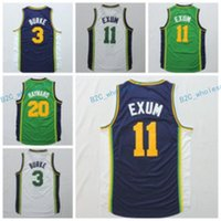 Camicia all'ingrosso e al minuto 20 Gordon Hayward Jersey 11 Uniformi Dante Exum 3 Trey Burke 27 Rudy Gobert Team Road Verde Blu Navy Bianco