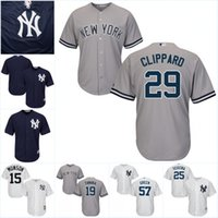 Baseball black clint - Youth New York Yankees Custom Jersey Francisco Diaz J P Feyereisen Dustin Fowler Clint Frazier Baseball Jerseys