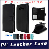 Wholesale tpu case cover for oneplus one for sale – best Leather Wallet cover For one plus For oneplus Motorola MOTO C PLUS Z2 PLAY Case flip credit card photo album slots