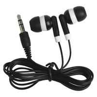 iphone ücretsiz kullanıldı toptan satış-Sıcak Ucuz Tek Kullanımlık Kulaklık Kulaklık Kulaklık Için Otobüs Veya Tren Veya Düzlem Bir Kez Düşük Maliyetli Kulakiçi Okul Için Kullanın 300 Adet / grup DHL Ücretsiz