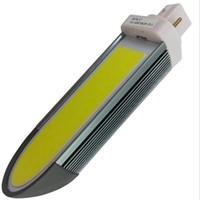 lámparas de alto brillo led e27 al por mayor-Alto brillo MAZORCA G24 E27 12 W 15W MAZORCA LED Luz de maíz Blanco / Blanco cálido Lámpara de enchufe horizontal AC85-220v bulbo de maíz G24 luces de la lámpara