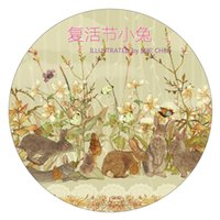 Wholesale Gummed Tape Wholesale - Wholesale- 2016 washi tape Zhang hand account peripheral gummed paper and The Easter bunny