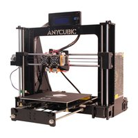 Wholesale 3d Stl - Anycubic 3d printers Chinese   English interface DIY learning suite reference prusa i3 double nozzle Double color printing