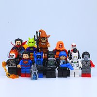 Wholesale Dr Toys - 2017 New 12Pcs lot Dr Suicide Squad Ghost Rider Batman Building Blocks Super Heroes Toys for Juguetes As Birthday Gifts as Festival Present