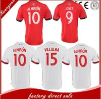 Wholesale United Number - 2017 2018 Thai quality Men Atlanta United FC jerseys 17 18 Atlanta United FC football shirtS Customize name and number