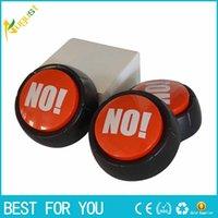 diversión del botón al por mayor-¡NO NO! Botón de sonido Squeeze Box Fun Stress Reliever Gifts Alivia la ansiedad y el estrés Juguet para adultos Niños Spin Toys
