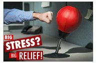 Wholesale Punch Balls - Wholesale- Stress Reliever Table-wall Pugilism Ball Desktop Punching Bag Vertical Boxing Ball Vent Decompression Office Toys Training Tools