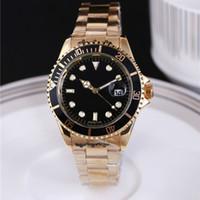 Wholesale Diving Submarine - AAA high quality hand watch Steel Belt Luxury Watch Men's Watch Diving Submarine Display Quartz Analog Sport Wristwatches Clock