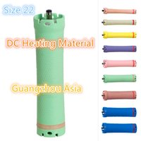 Wholesale Metal Hair Curlers - 2017 hot sale salon use hair perm roller, rod, curler, DC material, water-proof, 36V, size 22