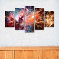Wholesale Digital Printed Galaxy - Printed Canvas Art Fantasy Universe Galaxy Painting for Home Decor Living Room Wall Decoration Background Artistic Prints