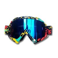 Wholesale bike helmets for men - 2017 High quality Anti-UV Sport racing off road gafas motocross goggles Downhill glasses for motorcycle dirt bike Helmet