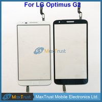 Wholesale lg g2 white touch screen for sale - Group buy Top Quality quot For LG Optimus G2 D800 D801 D803 Touch Screen Digitizer Front Glass Panel Sensor Black White Color