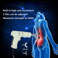 Wholesale Head Correction - Spine Chiropractic Electric Correction Activator Gun Massager 4 Heads adjustable intensity Therapy Chiropractic Adjusting Instrument