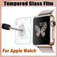 Vidro Temperado 9H Proof Premium Explosion Guard Protector Film Screen Protector para Apple Watch iWatch Series 1/2/3 38mm 42mm Smart Sport