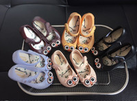 Wholesale Cute Owl Pattern Cartoon - Melissa jelly shoes fashion new kids cute owl princess single shoes baby boys and girls cartoon beach sandals children fragrance shoes T3885