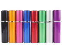 Wholesale Sealed Atomizer - New arrival hot 5ml spray perfume aluminum bottles atomizer for promotion mini perfume atomizer with spray sealed